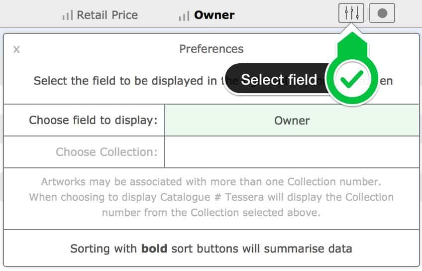 Select field